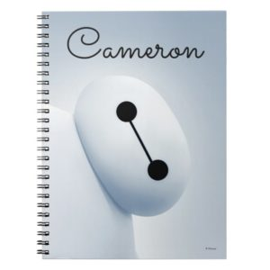 Baymax Self Image - Personalized Notebook