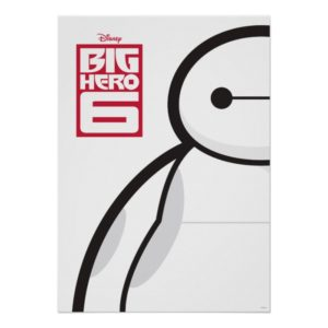 Baymax Standing Poster