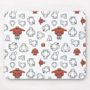 Baymax Suit Pattern Mouse Pad