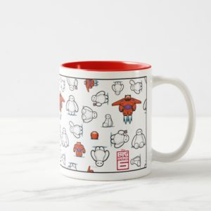 Baymax Suit Pattern Two-Tone Coffee Mug