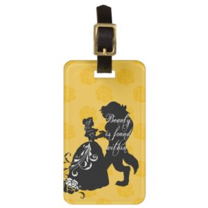 Beauty And The Beast   Beauty is Found Within Bag Tag