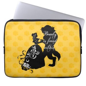 Beauty And The Beast | Beauty is Found Within Laptop Sleeve