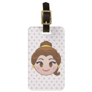 Beauty and the Beast Emoji | Belle Luggage Tag