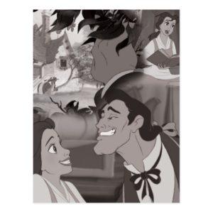 Beauty & The Beast | Belle & Gaston Postcard