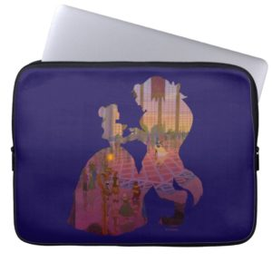 Beauty & The Beast | Silouette Dancing Laptop Sleeve
