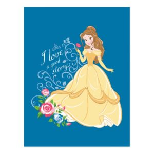 Belle | I Love A Good Story Postcard
