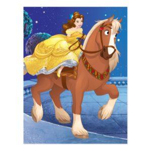 Belle | Never Gives Up Postcard