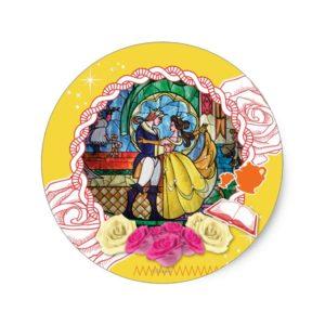 Belle - True of Heart Classic Round Sticker
