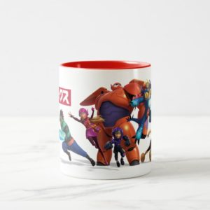 Big Hero 6 Superheros Two-Tone Coffee Mug
