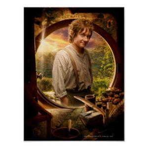 BILBO BAGGINS™ in Shire Collage Poster
