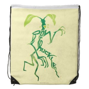 BOWTRUCKLE™ PICKETT™ Typography Graphic Drawstring Bag