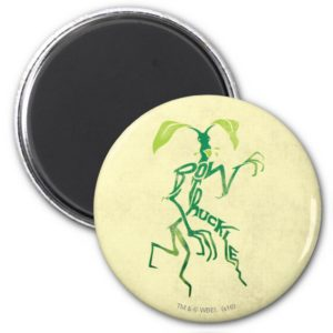 BOWTRUCKLE™ PICKETT™ Typography Graphic Magnet
