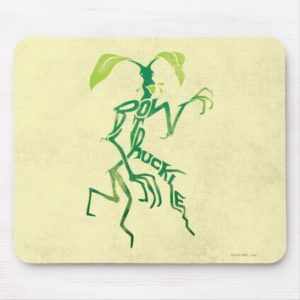 BOWTRUCKLE™ PICKETT™ Typography Graphic Mouse Pad