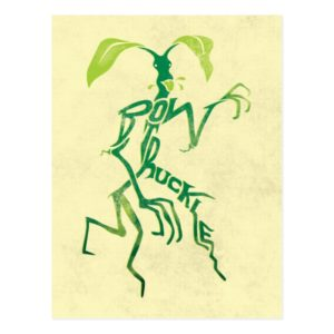 BOWTRUCKLE™ PICKETT™ Typography Graphic Postcard