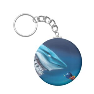 Bruce, Nemo and Dory 1 Keychain