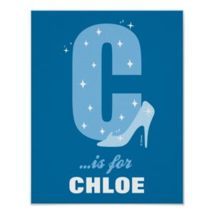 C is for Cinderella | Add Your Name 2 Poster
