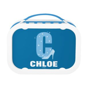 C is for Cinderella   Add Your Name Lunch Box