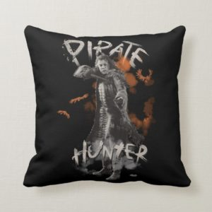 Captain Salazar - Pirate Hunter Throw Pillow