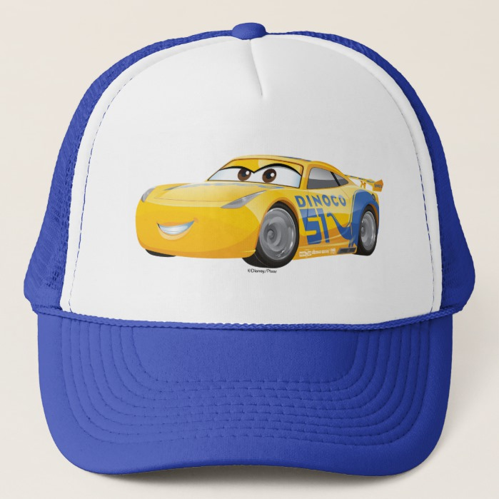 Cars 3 Cruz Ramirez Trucker Hat Custom Fan Art