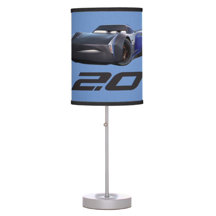Cars 3 Jackson Storm Storm 2 0 Desk Lamp Custom Fan Art