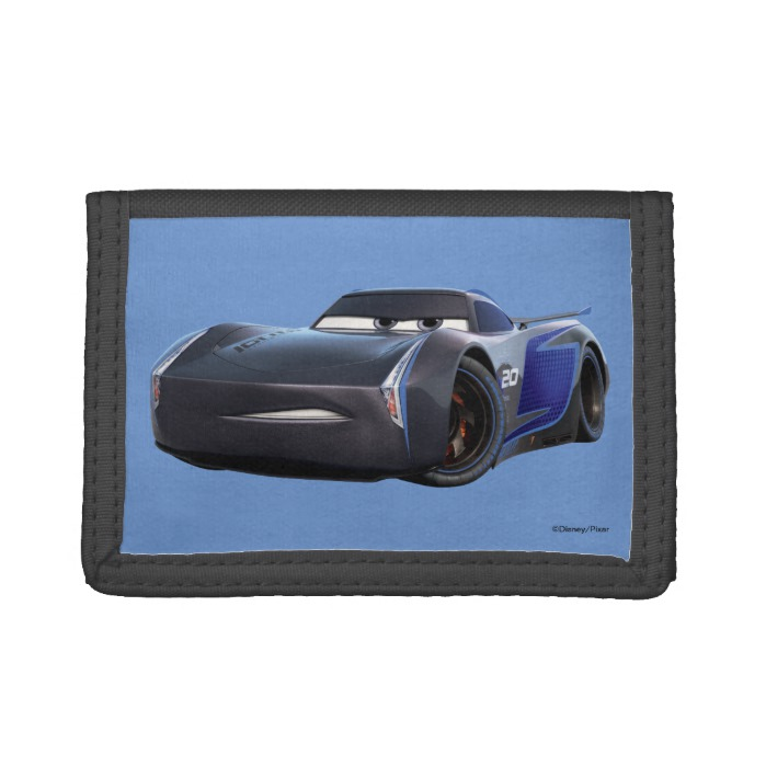 Cars 3 Jackson Storm Storm 2 0 Trifold Wallet Custom Fan Art