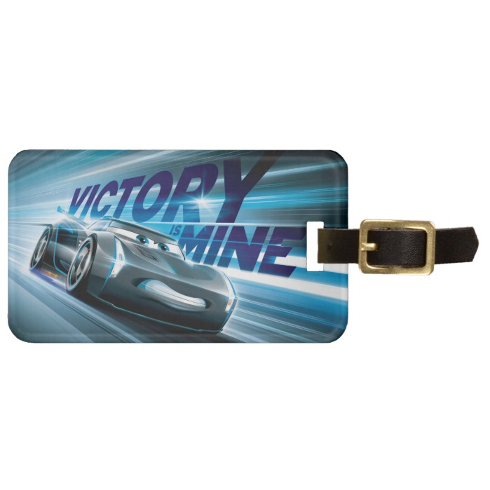 Cars 3 Jackson Storm Victory Is Mine Luggage Tag Custom Fan Art