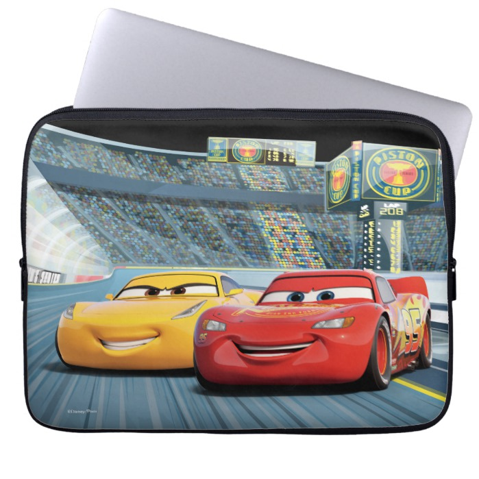 8cbb565e290d Cars 3 | Lightning McQueen & Cruz Ramirez Laptop Sleeve