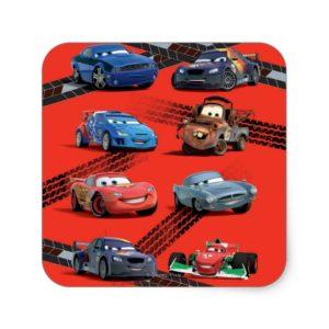 Cars Square Sticker