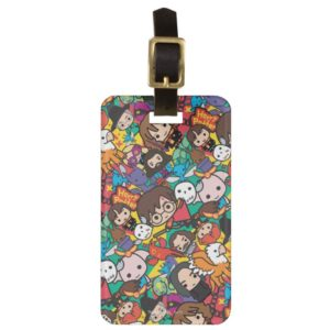 Cartoon Harry Potter Character Toss Pattern Bag Tag