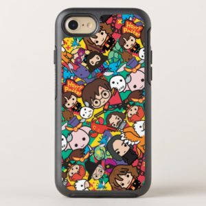 Cartoon Harry Potter Character Toss Pattern OtterBox iPhone Case
