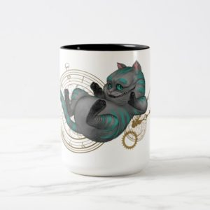 Cheshire Cat | Time's a Wastin' 2 Two-Tone Coffee Mug