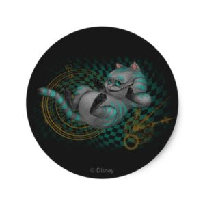 Cheshire Cat | Time's a Wastin' Classic Round Sticker
