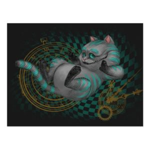 Cheshire Cat | Time's a Wastin' Postcard