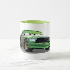 Chick Hicks Green Race Car Disney Mug