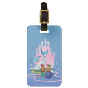 Cinderella | Glass Slipper And Mice Bag Tag