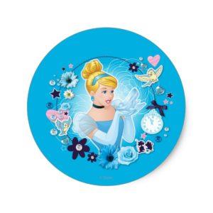 Cinderella - Gracious as a True Princess Classic Round Sticker