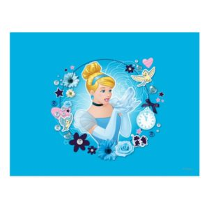 Cinderella - Gracious as a True Princess Postcard
