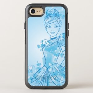Cinderella | Watercolor Outline OtterBox iPhone Case