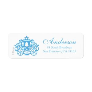 Cinderella Wedding | Carriage Label