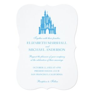 Cinderella Wedding | Castle Invitation