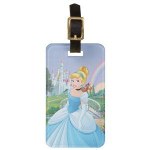 Cinderella With Gus & Jaq Luggage Tag