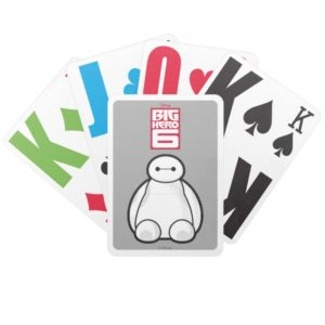 Classic Baymax Sitting Graphic Bicycle Playing Cards