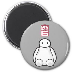 Classic Baymax Sitting Graphic Magnet