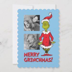 Classic Grinch | Santa Claus Holiday Card