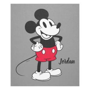 Classic Mickey Mouse   A True Original Fleece Blanket