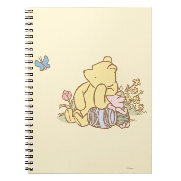 Classic Winnie the Pooh and Piglet 1 Notebook