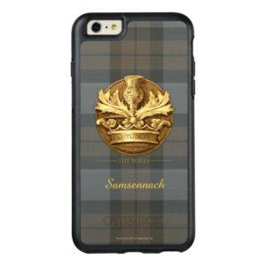 Customizable Thistle of Scotland Emblem OtterBox iPhone Case