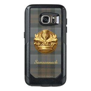 Customizable Thistle of Scotland Emblem OtterBox Samsung Galaxy S7 Case