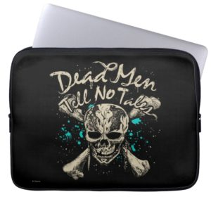Dead Men Tell No Tales Laptop Sleeve
