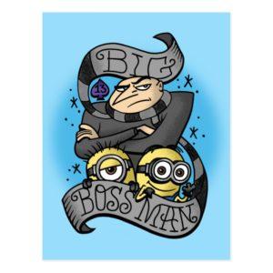 Despicable Me | Big Boss Man Gru & Minions Postcard